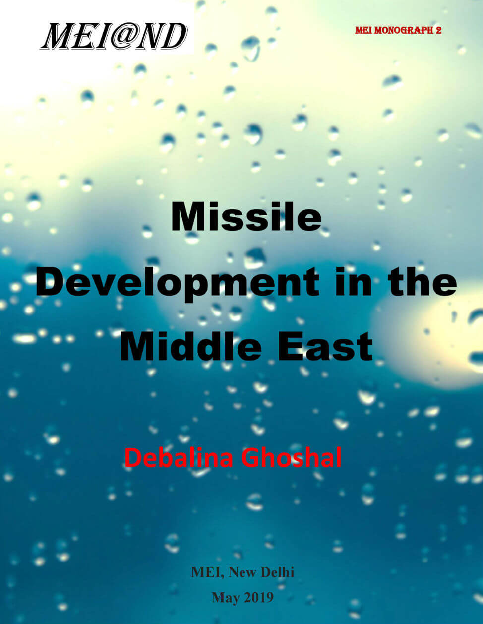 Missile Development in the Middle East