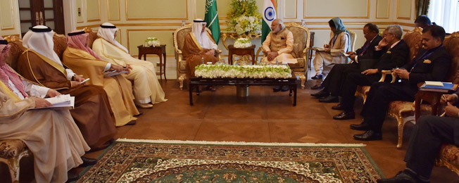 Commentary 570: India Intensifies Engagement with Saudi Arabia