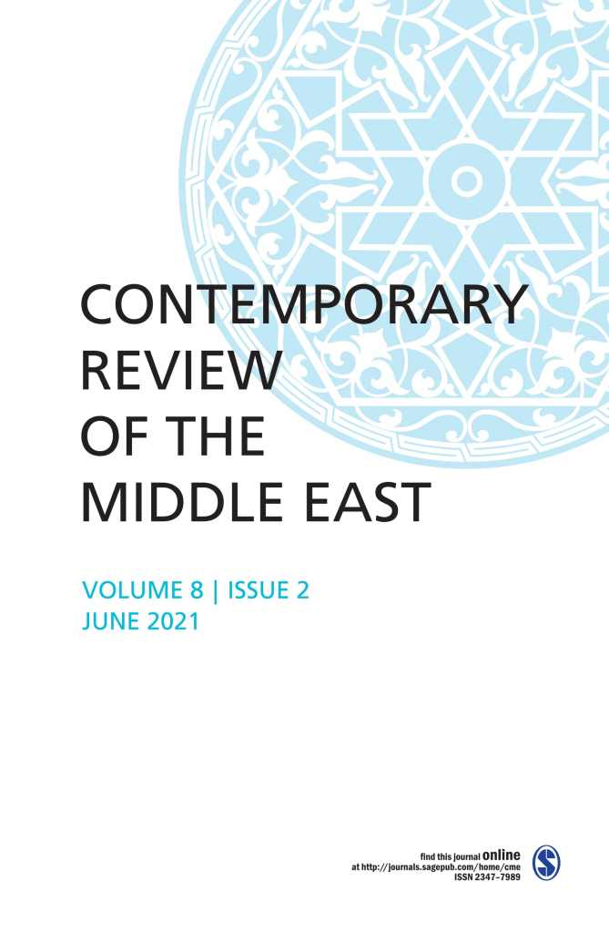 Contemporary Review of the Middle East: Volume 8 Issue 2, June 2021: Contents